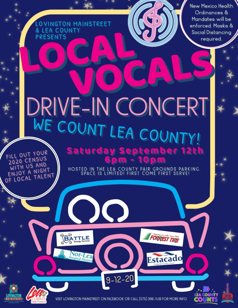 Local Vocals Flyer