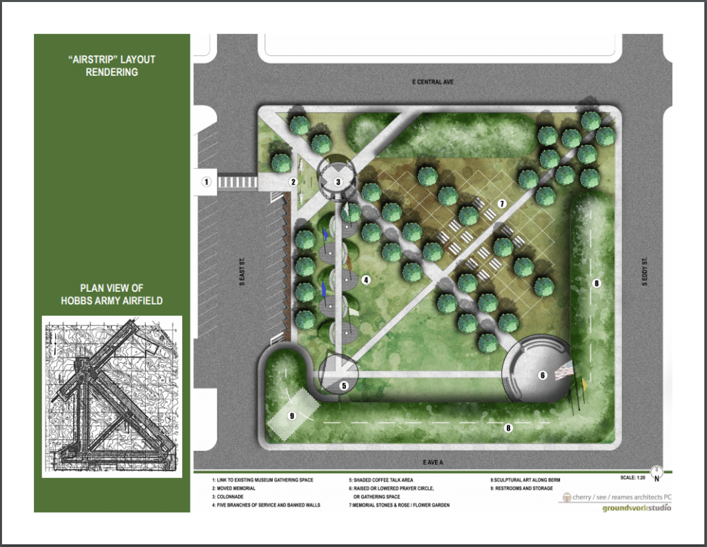 Veterans Memorial Rendering 1